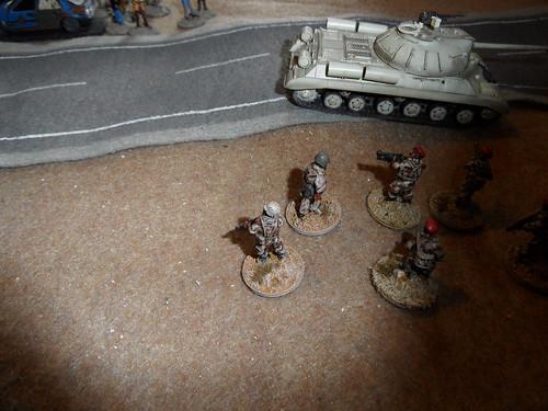 T-55 rolls on