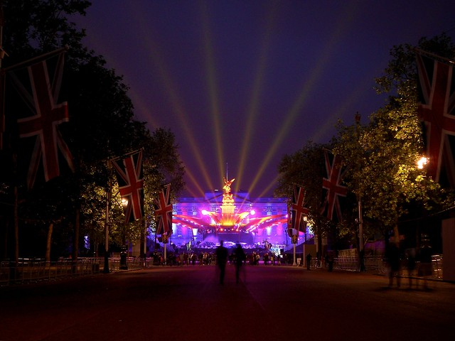 Buckingham Palace on the Eve of the Diamond Jubilee - Version 2