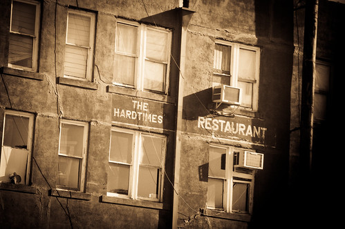 Hard Times Restaurant (antiqued)