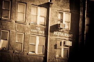 Hard Times Restaurant (antiqued)