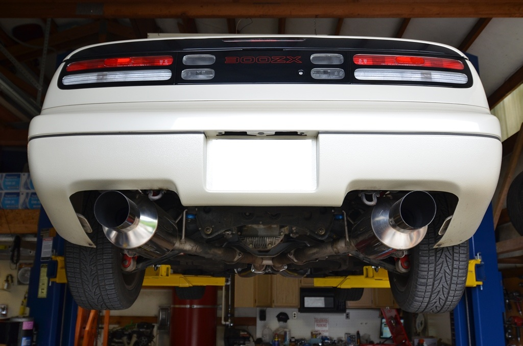 net: nissan 300zx forum - out with the old    (and fuel filter relocation  pics)