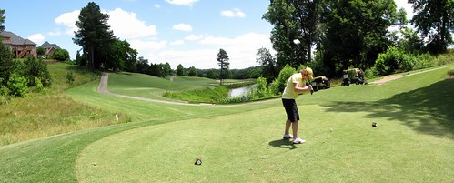 Salem Glen Country Club pano of Hole 12