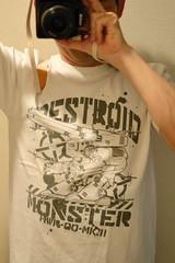 デストロイド・モンスターTシャツ