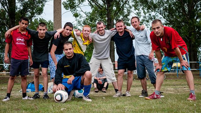 Jászfényszaru focisták