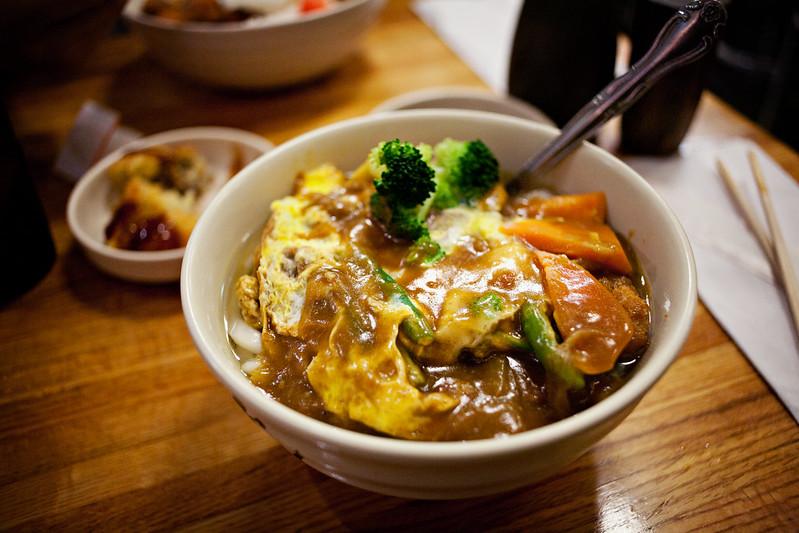 curry udon @ たんぽぽ