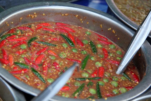 Nam Prik Kaphi (Shrimp Paste Sauce w/ Vegetables) น้ำพริกกะปิ