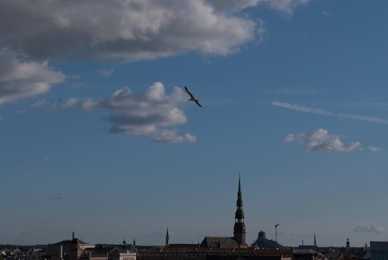 overlooking Riga !  DSC_5228