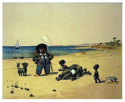 006-La aparición del blanco-Afrika  Studien und Einfaelle eines Malers 1895- Hans Richard von Volkmann- Universitätsbibliotheken Oldenburg