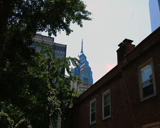 Skyline seen from North Mole Street