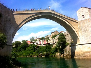 Bosnia - Bridge Diver - Mostar