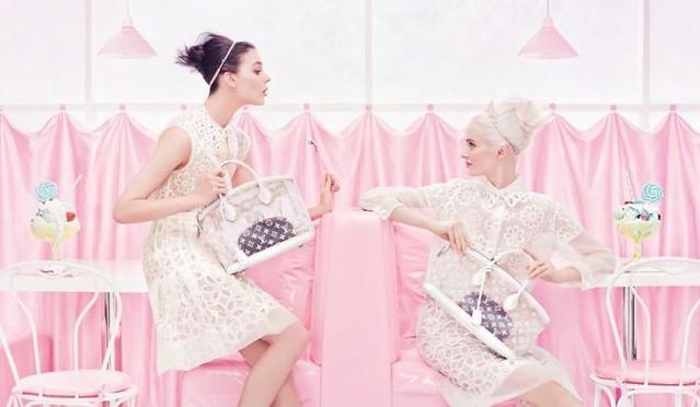 lDaria Strokous & Kati Nescher for Louis Vuitton Spring 2012 Campaign by Steven Meiselv1