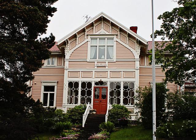 pink villa