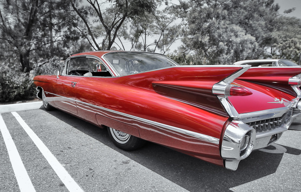 Classic 1959 Cadillac | Mobile Phone Table and Tech ...