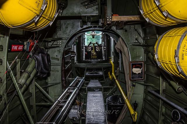 B-24J bomb Bay