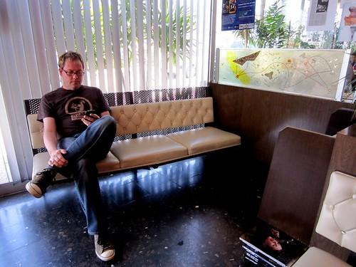 Pann's Restaurant Interior Waiting