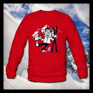 Après-ski sweater. #Spreadshirt  #Tshirt #Tshirtdesign #wintersport #wintersports #party #ski #skiing #skiën #dailysketch #dailydrawing #tekening #tekenen #drawing www.Tekenaartje.nl