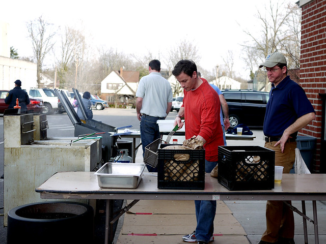 Friday Fish Fry: Nativity School, Pleasant Ridge