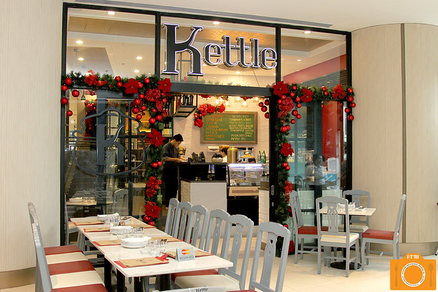 Kettle facade