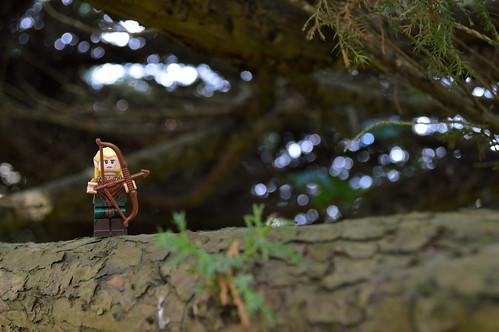 Woodland elf (26x100 LEGO)