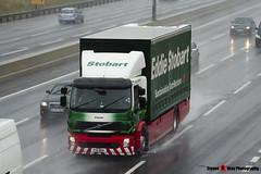 Volvo FE Hybrid 4x2 Curtainside - PX11 BKK - Connie - Eddie Stobart - M1 J10 Luton - Steven Gray - IMG_6931