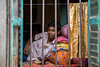 "A boy ""behind bars"" in Kolkata, India. by cookiesound"