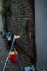 Yarn bombing Besançon 17