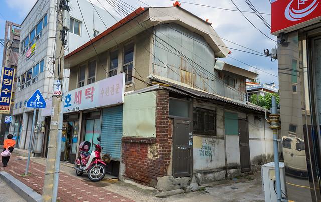 Colonial building, Mokpo, South Korea