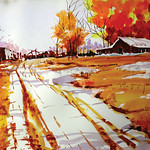 Robert Gray- Pathway - 25th Annual Colorado Watercolor Society State Exhibition
