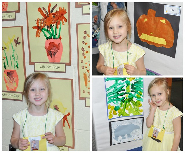 LIly's Preschool Art Show 2016