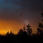 29. Juuni 2016 - 3:43 - Sunrise Lightning in Prince George