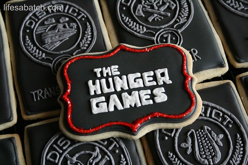 The Hunger Games Cookies.