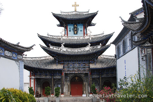 Catholic Church in Dali Yunnan China