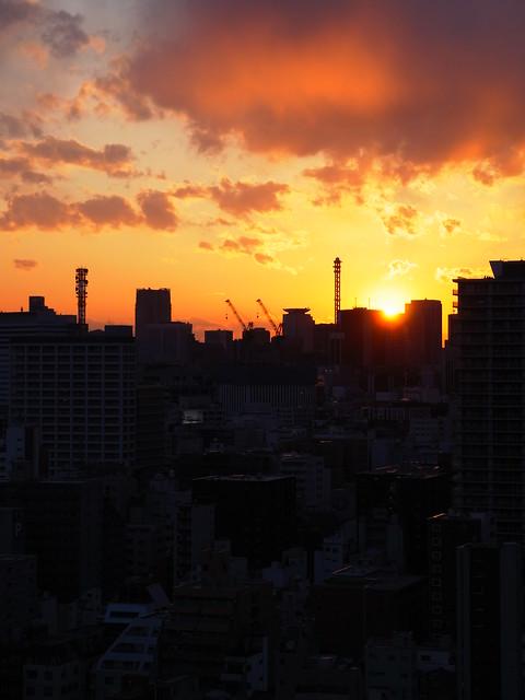 sunset 4:3