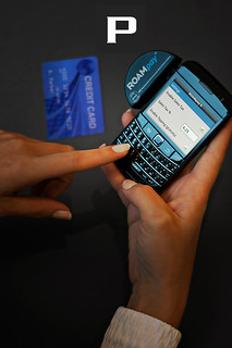 Blackberry Card Swiper Reader