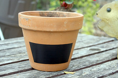 Thumbnail image for How To Make a Chalkboard Paint Pot