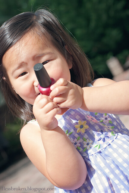 BLOG lily holding nail polish