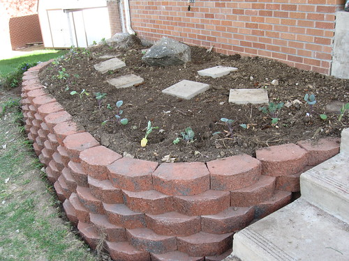 Image Result For Stacked Stone Retaining Wall Ideas