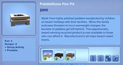PebbleStone Fire Pit