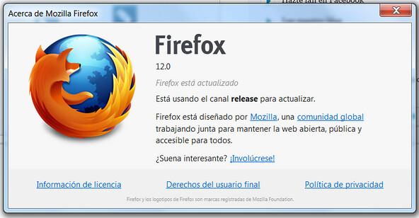 Firefox 12 [facilware]