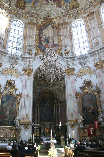 Hochzeit in der Klosterkirch Ettal