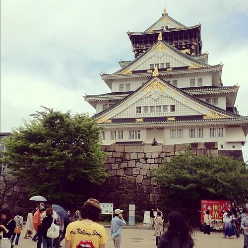 大阪城とまぐにーとまぐねー