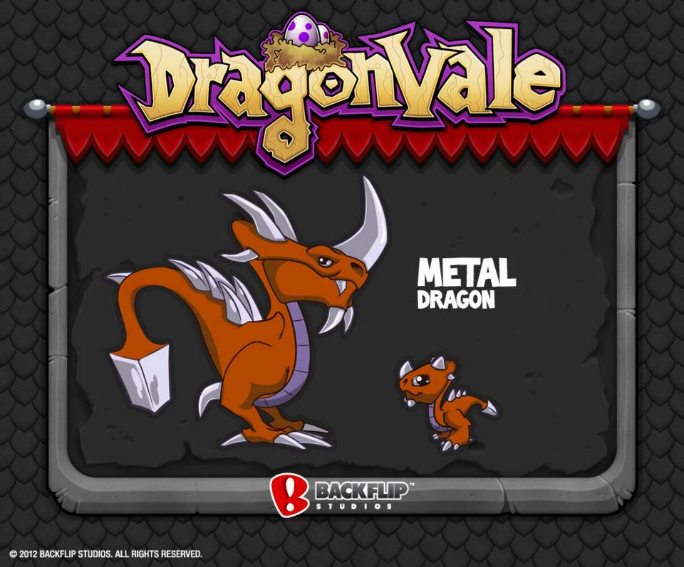 DragpmVale Metal Dragon