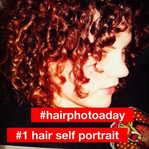 #hairphotoaday #pantene #1 hair self portrait December 2005