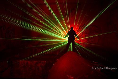 Underground Lasers by Dave Brightwell