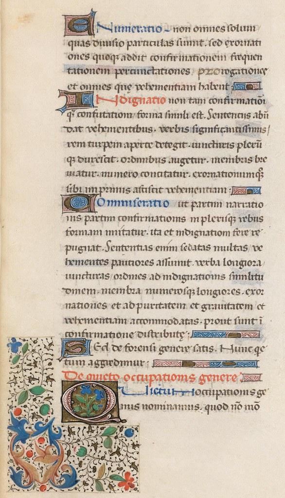 176r - Cod. Bodmer 176 (Rhetorica - 1471)