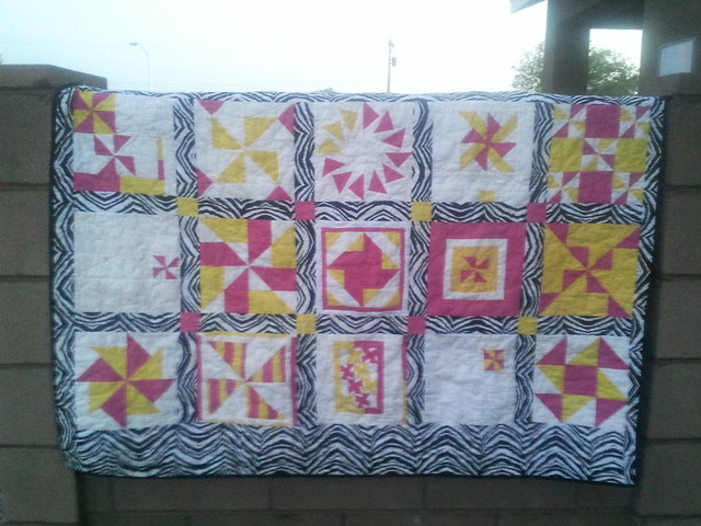 Jelly bean quilt