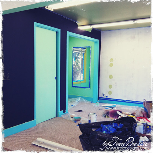 treiC designs studio 323-7_9 - my new chalkboard wall