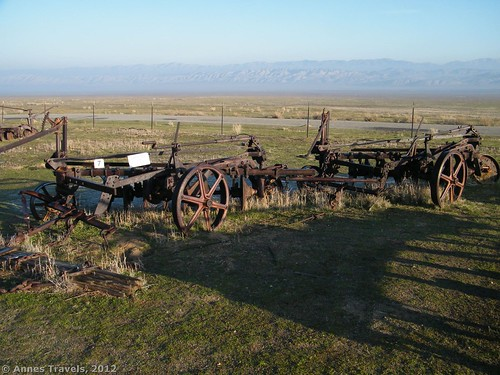 Wheatland Disk in Traver Ranch in Carrizo Plain National Monument, California