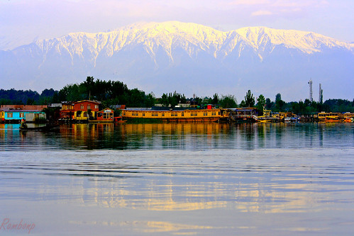 Sunrise at Dal Lake,Srinagar,Kashmir.