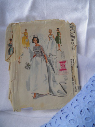 Vintage McCalls wedding dress pattern